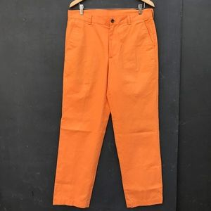 Brooks Brothers Orange Chino sz. 34/32